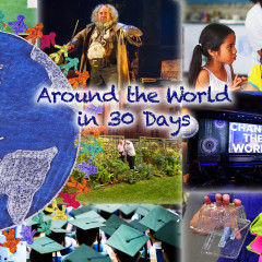 Around the World in 30 Days – April 2016