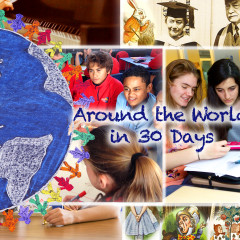 Around the World in 30 Days – May 2016