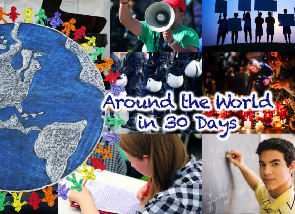 Around the World in 30 Days: September 2016