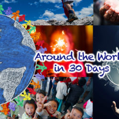 Around the World in 30 Days: December 2016