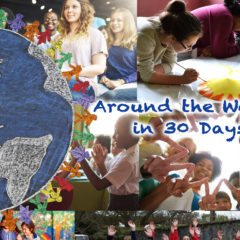 Around the World in 30 Days: January 2017