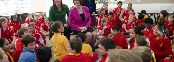 The Global Search for Education: Meet the Ministers – From Australia – Julia Gillard