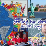 Around the World in 30 Days: March 2017