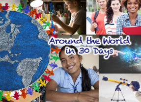 Around the World in 30 Days: April 2017