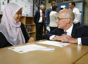 The Global Search for Education: Meet the Ministers – From Scotland – John Swinney