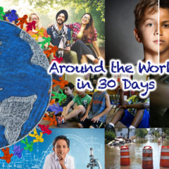Around the World in 30 Days: September 2017