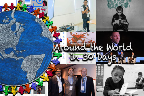 Around the World in 30 Days – February 2019