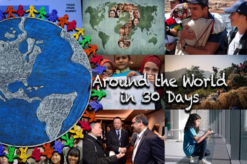 Around the World in 30 Days: March 2019
