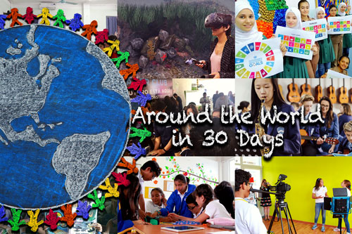 Around the World in 30 Days – June 2019
