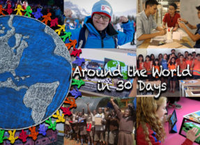 Around the World in 30 Days – July 2019