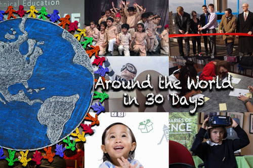 Around the World in 30 Days – August 2019
