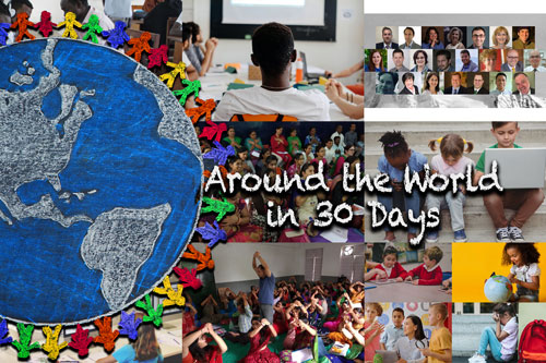 Around the World in 30 Days – November 2019