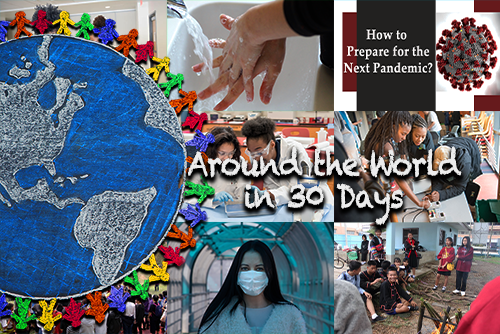 Around the World in 30 Days – April 2020